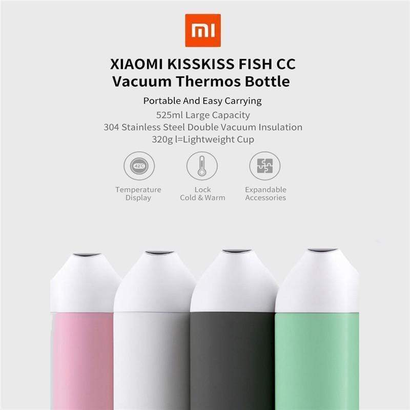 Multi- Function Smart Water Bottle 525ml - Instant Temperature Display Water Bottle - RAPBLUE