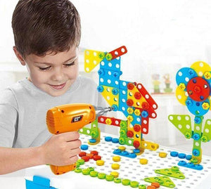 Design and Drill Creative Toy Kit - RAPBLUE