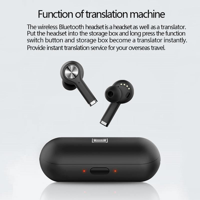 Bluetooth 5.0 In Earbuds Wireless Headset With Translation Function - RAPBLUE