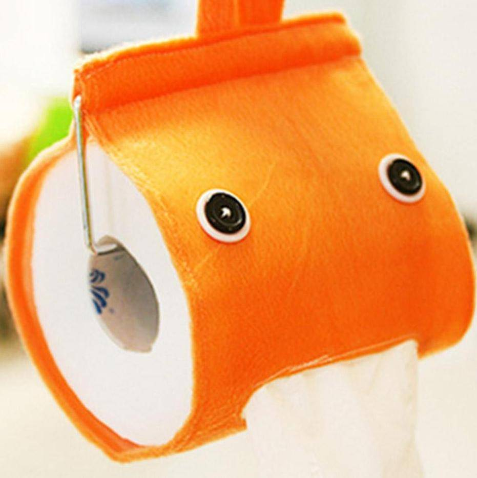 Cartoon Toiler Paper Roll Holder - RAPBLUE