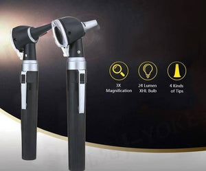 Carevas Fiber Optic LED Otoscope - RAPBLUE
