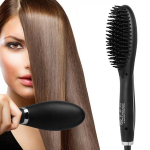 Electric Hair Straightening Brush - RAPBLUE