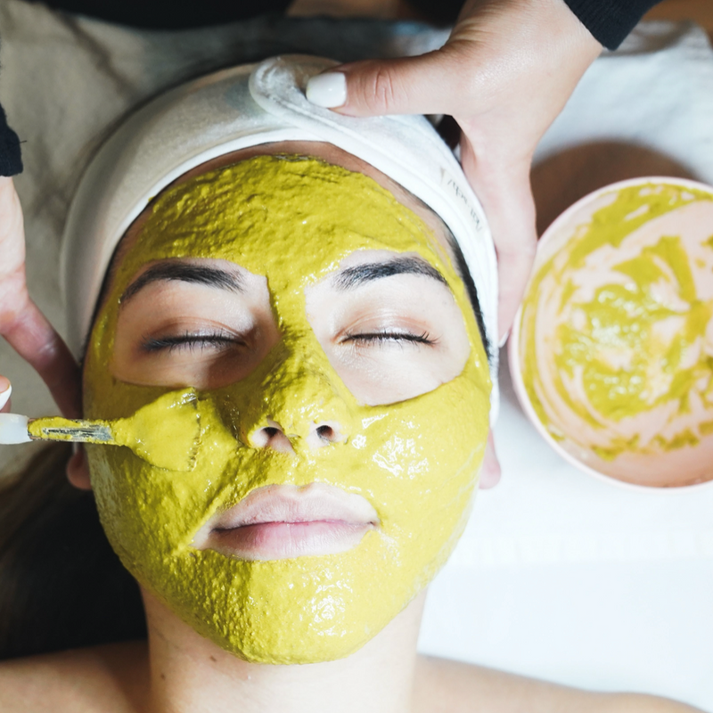 Exfoliating Bright Skin Facial Mask