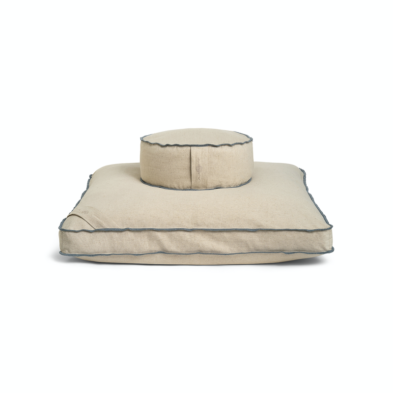 Organic Meditation Cushion Set