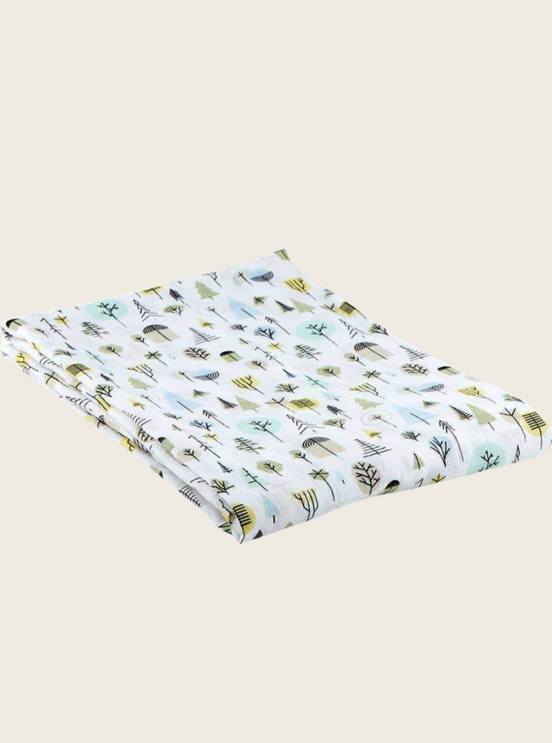 Tree Swaddle Blanket