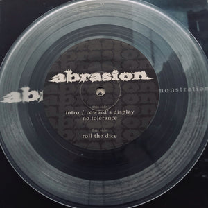Abrasion - Demonstration 7""