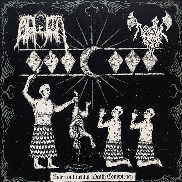 Abduction / Nocturnal Prayer - Intercontinental Death Conspiracy LP
