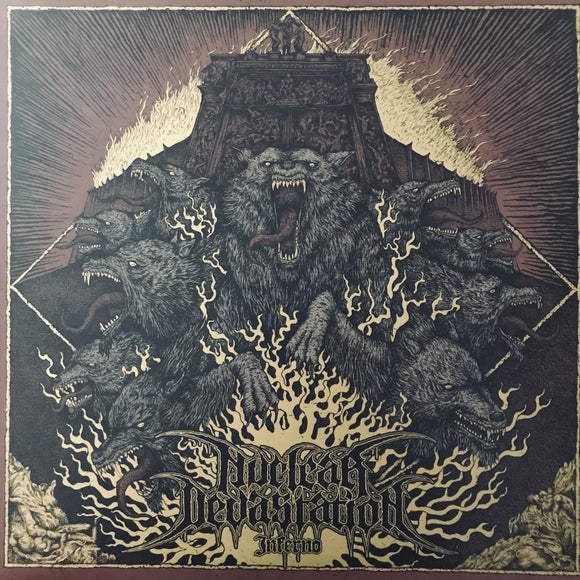 Nuclear Devastation - Inferno LP