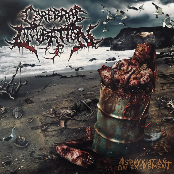 Cerebral Incubation - Asphyxiating On Excrement LP
