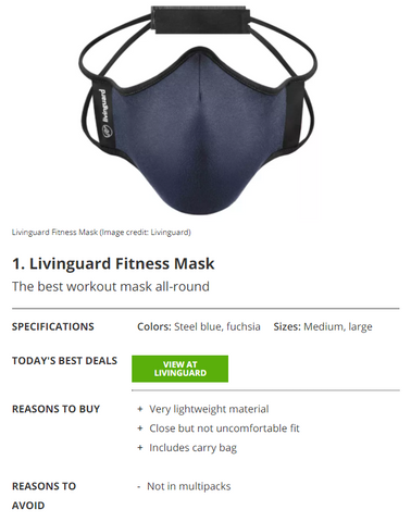 The best workout masks 2021: lightweight masks for running, cycling or the gym
