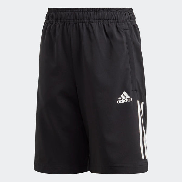 JUNIOR BOY TR 3 STRIPE WOVEN SHORT