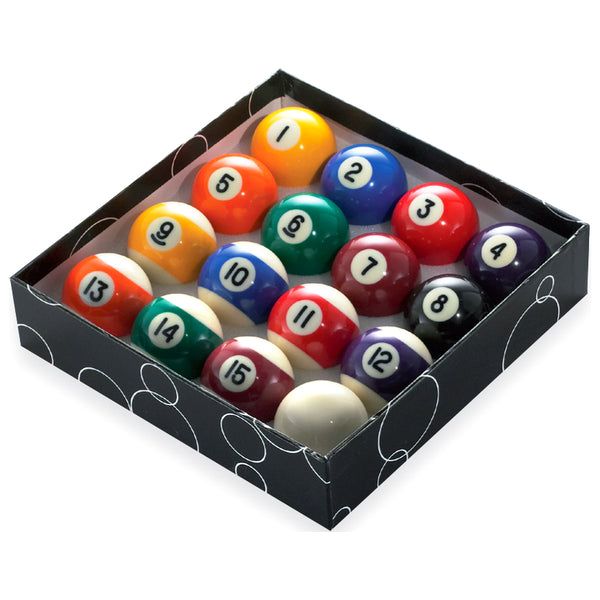 STANDARD POOL BALLS BOXED
