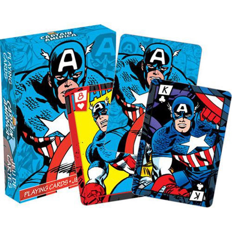 MARVEL - CAPTAIN AMERCIA COMICS PLAYING CARDS
