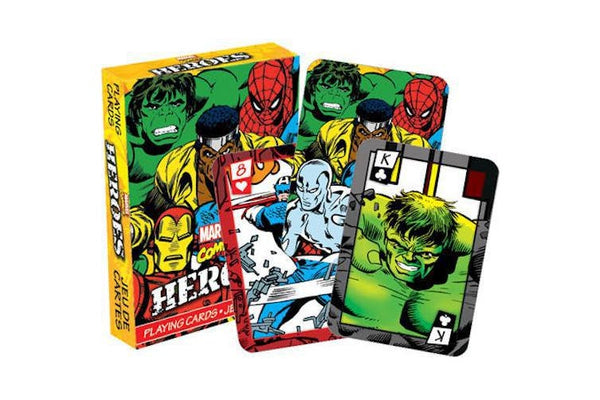 MARVEL - HEROES COMICS PLAYING CARDS
