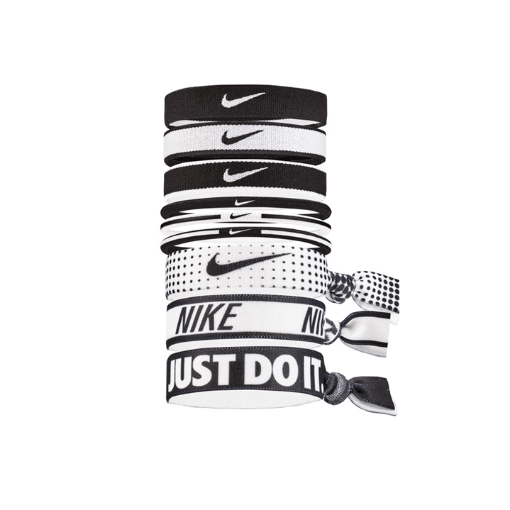 NIKE MIXED PONYTAIL HOLDER 9 PACK
