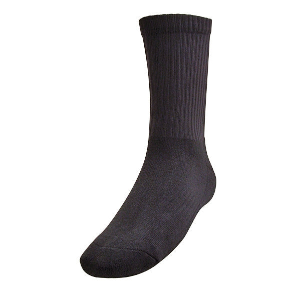 CREW FOOTBALL SOCKS BLACK