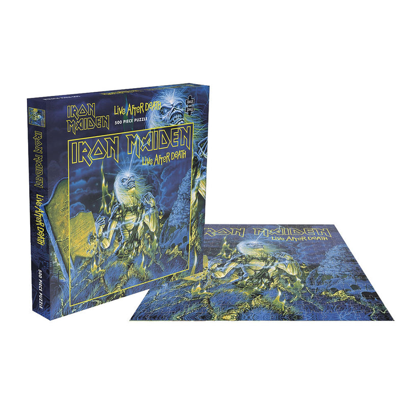 IRON MAIDEN - LIVE AFTER DEATH 500PC PUZZLE