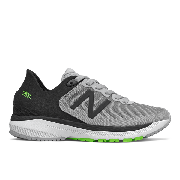 860 V11 light grey black green fresh foam new balance kids boys running shoe