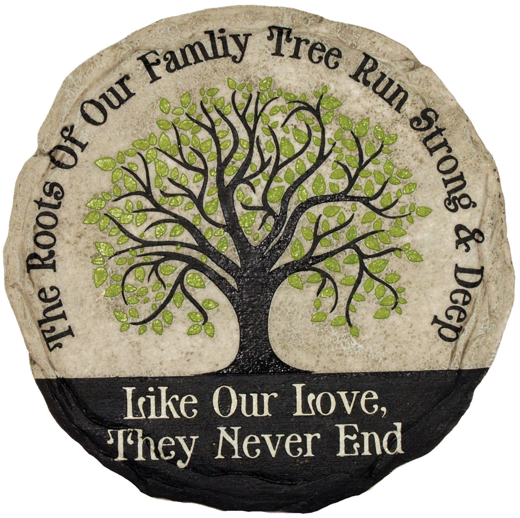 Family Tree Stepping Stone
