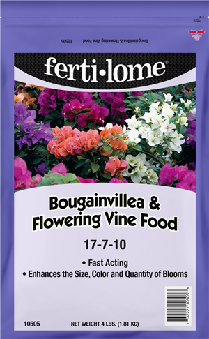 BOUGAINVILLEA & FLOWERING VINE FOOD 17-7-10 (4 LBS)