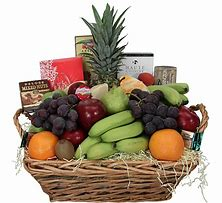 Florist Designed Fruit & Gourmet Basket