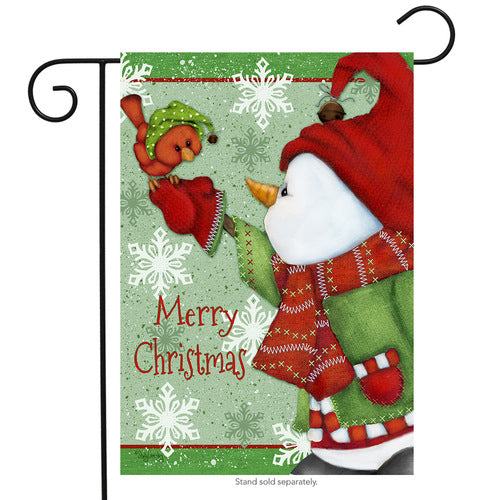 Merry Christmas Garden Flag