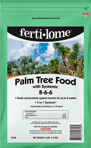 PALM TREE FOOD WITH SYSTEMIC (4 LBS