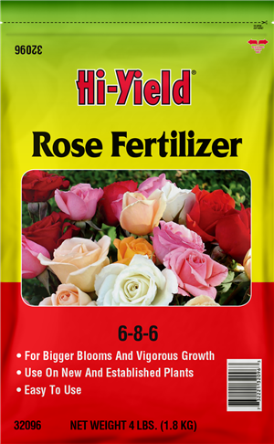 ROSE FERTILIZER 6-8-6 (4 LBS)