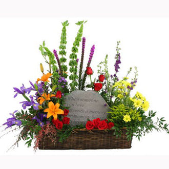 Stone Tribute Basket