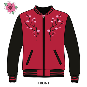 Iroh x Spirits - Embroidered Reversible 2-in-1 Bomber