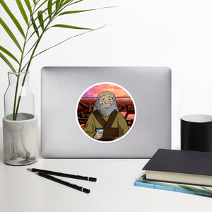 """Tea with Iroh"" Vinyl Sticker"