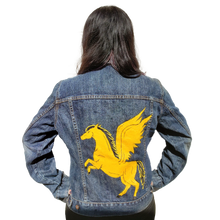 Load image into Gallery viewer, Golden Pegasus Jacket