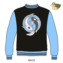 Load image into Gallery viewer, Iroh x Spirits - Embroidered Reversible 2-in-1 Bomber