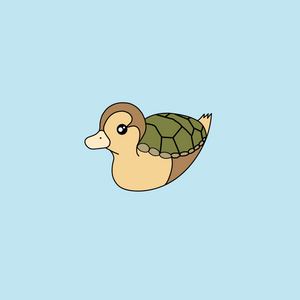 Turtle Duck Pin