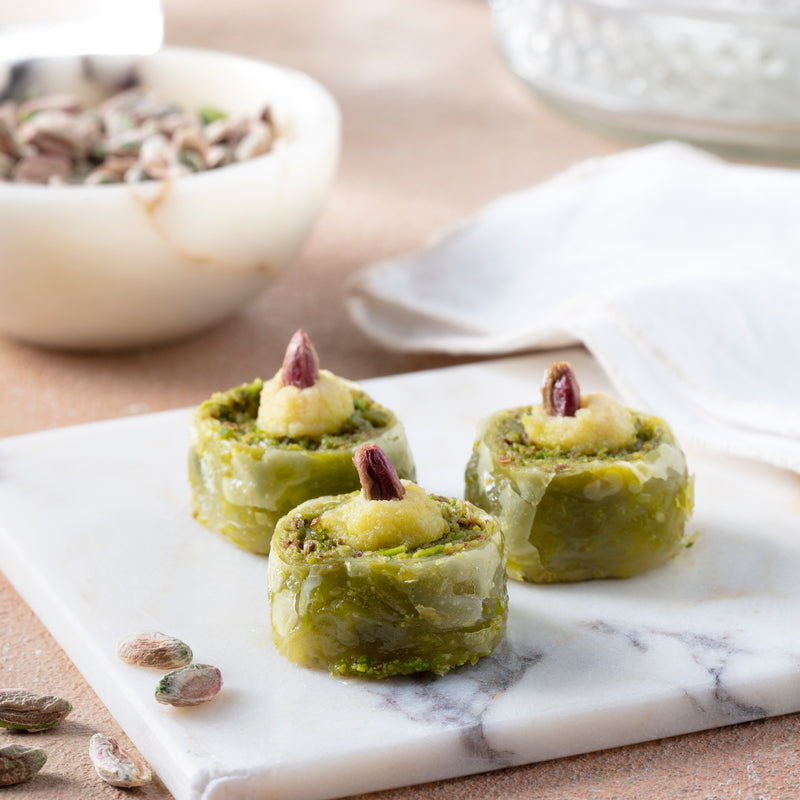 Special Rolled Pistachio Baklava