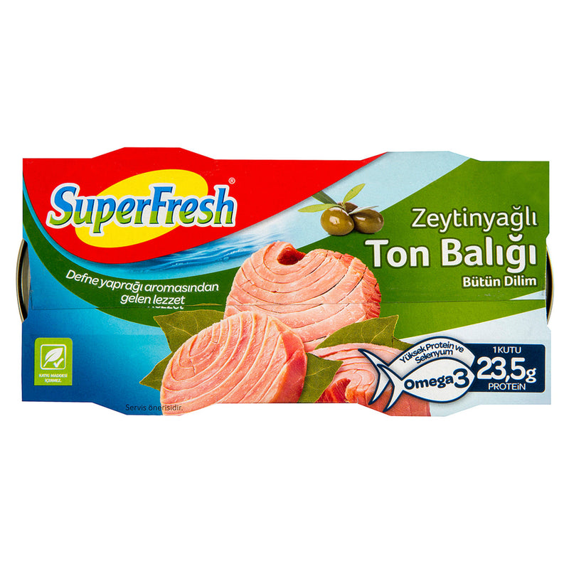 Superfresh Tuna with Olive Oil (2x5.64oz)