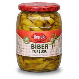 Berrak Yellow Pepper Pickles Mild