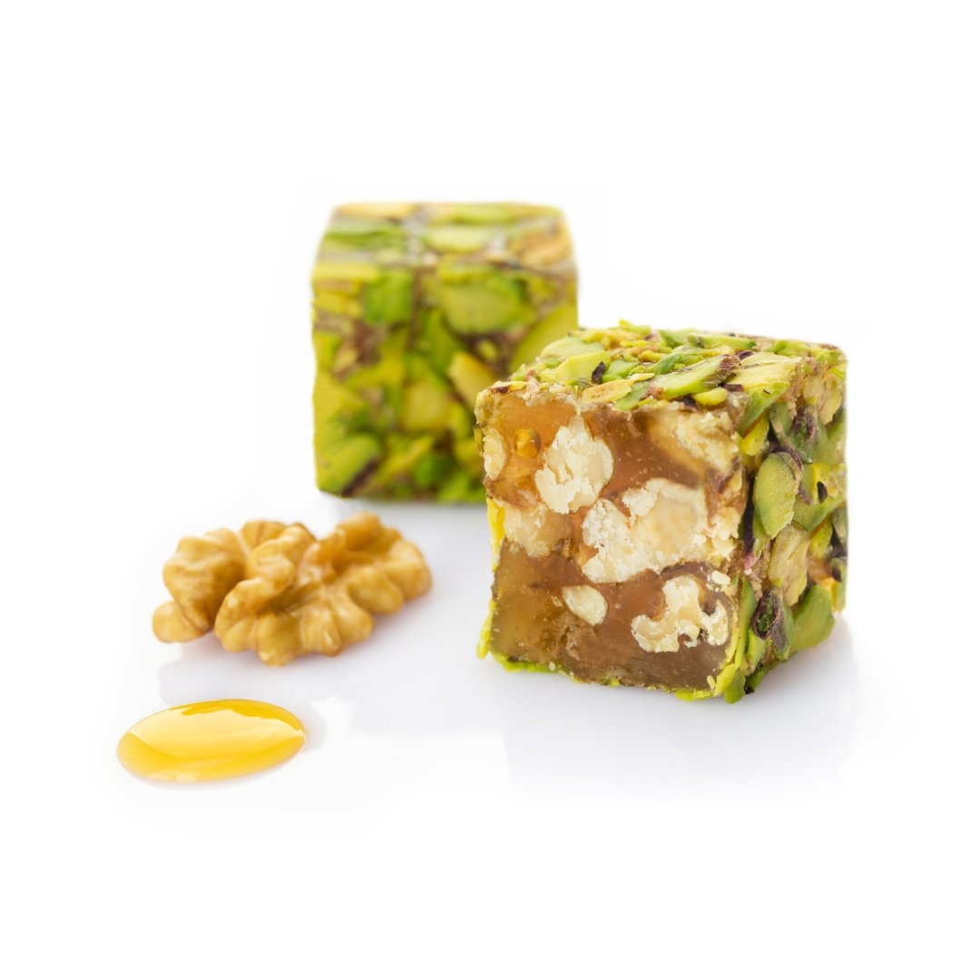 Walnut & Honey + Pistachios Delight