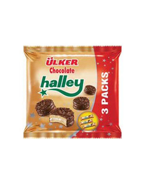 Ulker Halley Mini Biscuits (3pack)