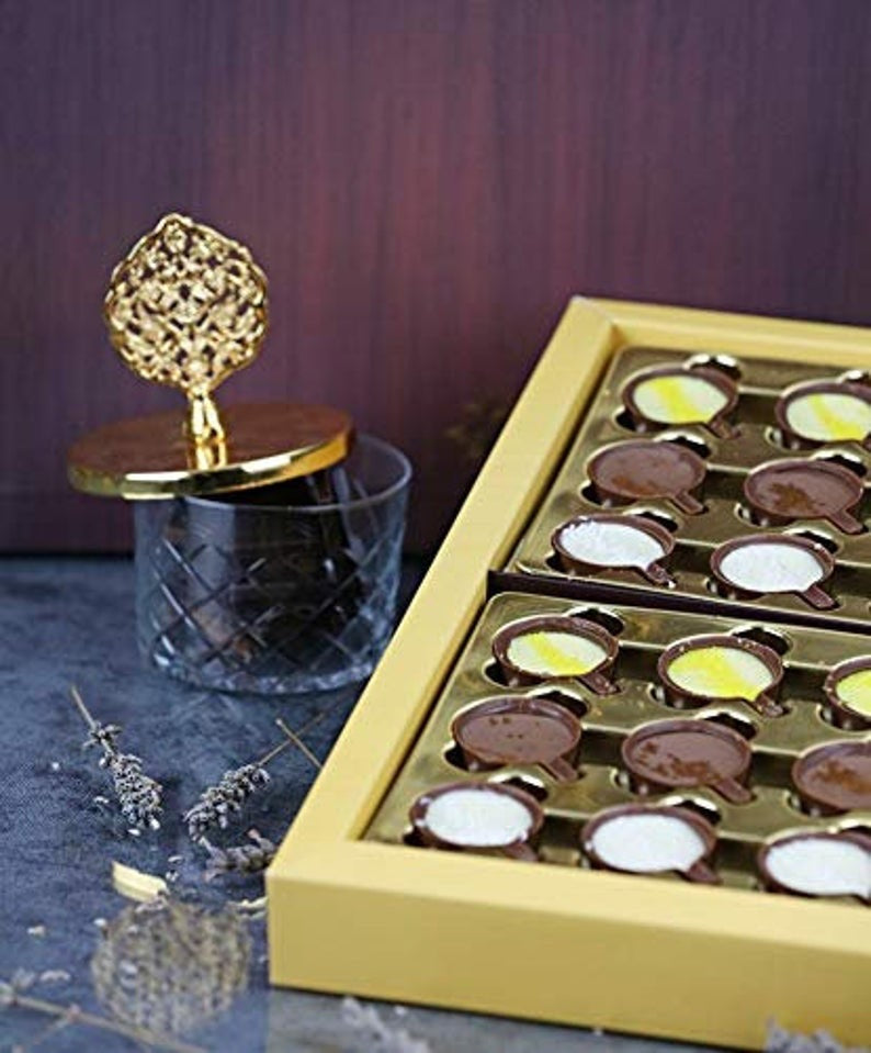 Assorted Chocolate Chococups Gift Box