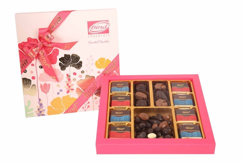 Assorted Chocolate Varieties, Dragees, Gift Box