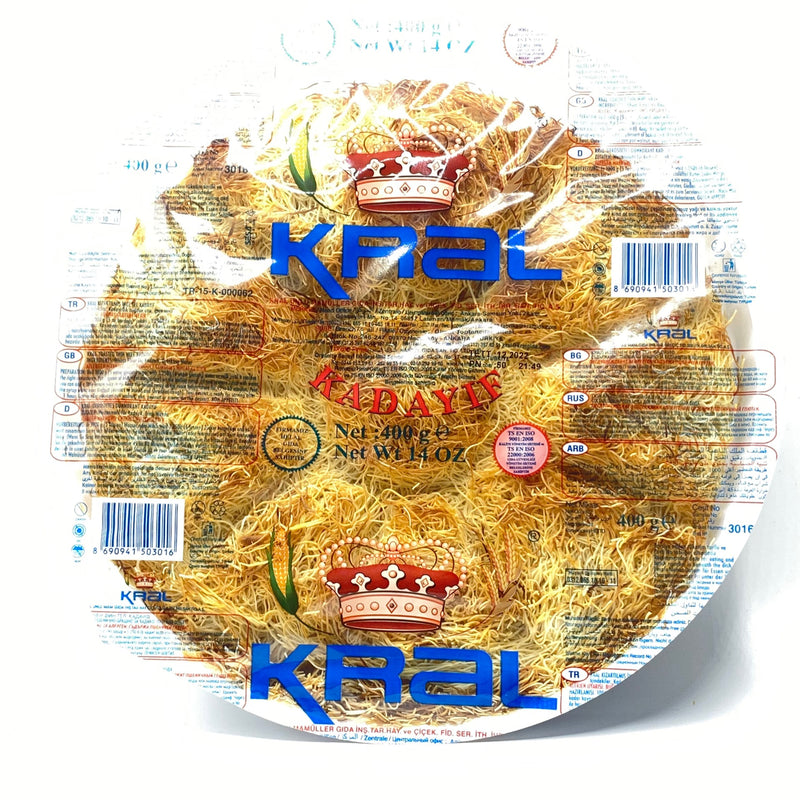 Kral Fried Shredded Wheat Lux (Kadayif)