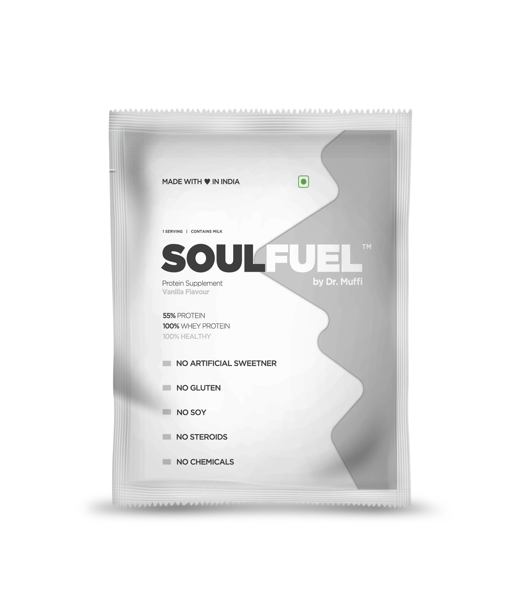 SoulFuel Vanilla single serve