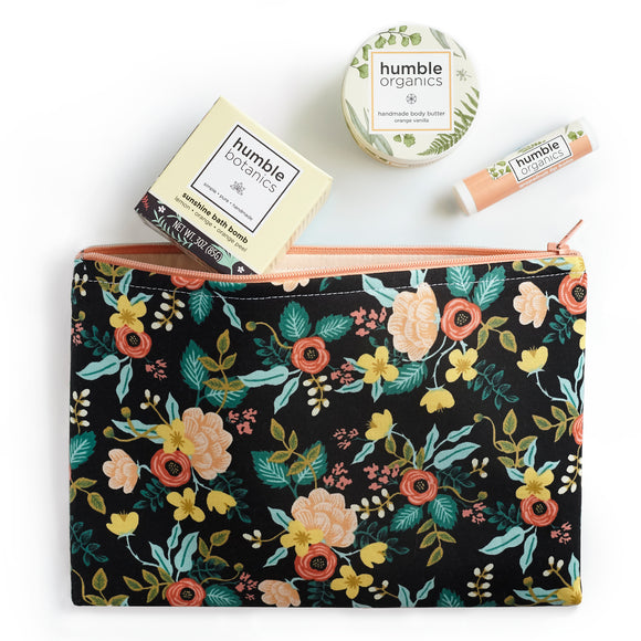 Citrus Gift Set with Rifle Paper Co. Floral Pouch