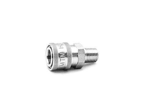 MTM Hydro Male NPT Stainless Quick Coupler
