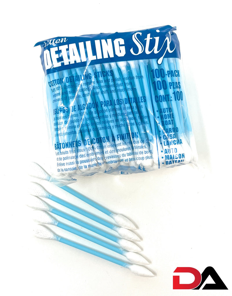 Cotton Detailing Stix (100 Pack)