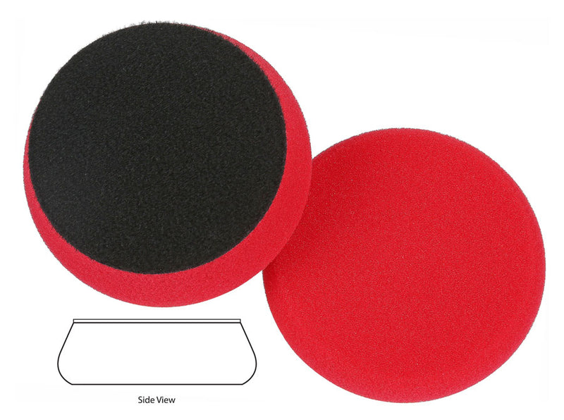 Lake Country Force Hybrid Red Final Finishing Pad 3.5 inch