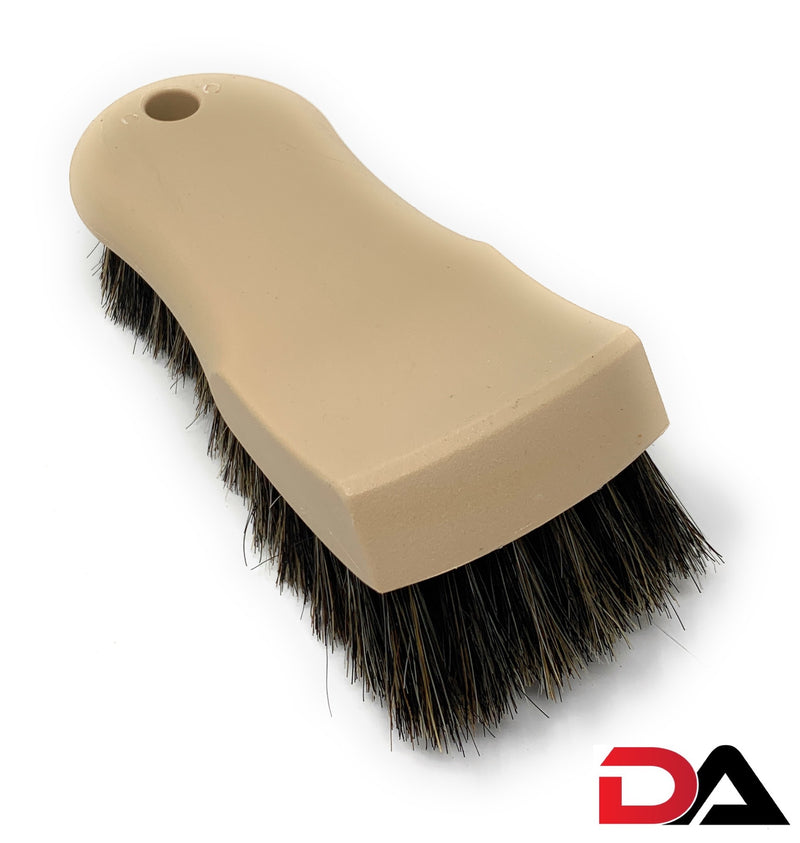 Leather Upholstery Brush (Horsehair)