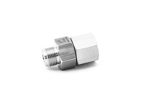 "MTM Hydro AG Live 3/8"" Stainless Steel Swivel"