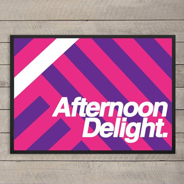 Afternoon Delight - Framed Poster